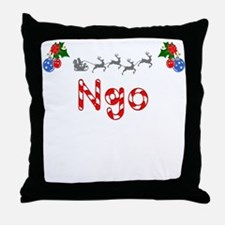 Ngo, Christmas Throw Pillow