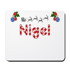 Nigel, Christmas Mousepad