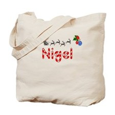 Nigel, Christmas Tote Bag