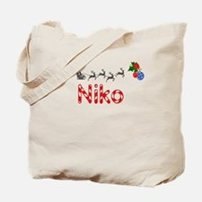 Niko, Christmas Tote Bag
