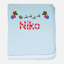 Niko, Christmas baby blanket