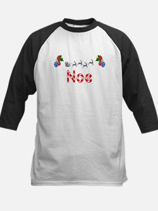 Noe, Christmas Kids Baseball Jersey