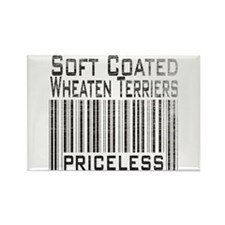 Soft Coated Wheaten Terriers Rectangle Magnet
