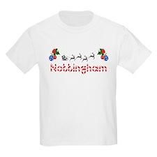 Nottingham, Christmas T-Shirt