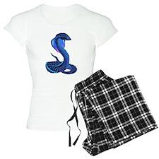 A Big Blue Snake Pajamas