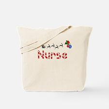 Nurse, Christmas Tote Bag
