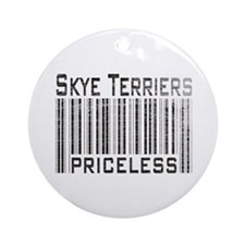 Skye Terriers Ornament (Round)