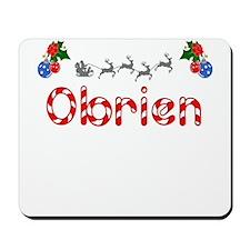 Obrien, Christmas Mousepad