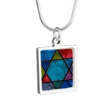 Star of David Silver Necklace