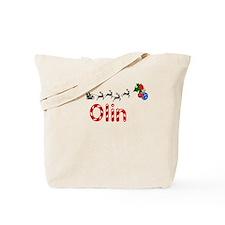 Olin, Christmas Tote Bag