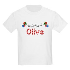 Olive, Christmas T-Shirt