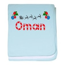 Oman, Christmas baby blanket