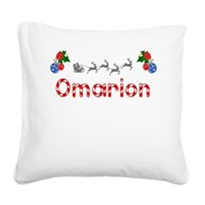 Omarion, Christmas Square Canvas Pillow