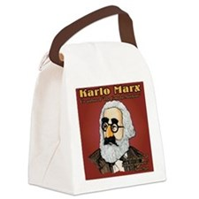 Karlo Marx Canvas Lunch Bag