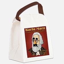 Karlo Marx Canvas Lunch Bag