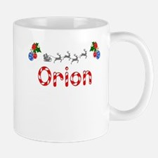 Orion, Christmas Mug