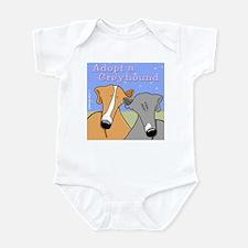 Adopt a Greyhound Infant Bodysuit