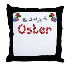 Oster, Christmas Throw Pillow