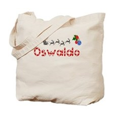 Oswaldo, Christmas Tote Bag