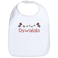 Oswaldo, Christmas Bib