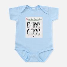 Santa's Boys Birthdays Infant Bodysuit