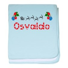Osvaldo, Christmas baby blanket