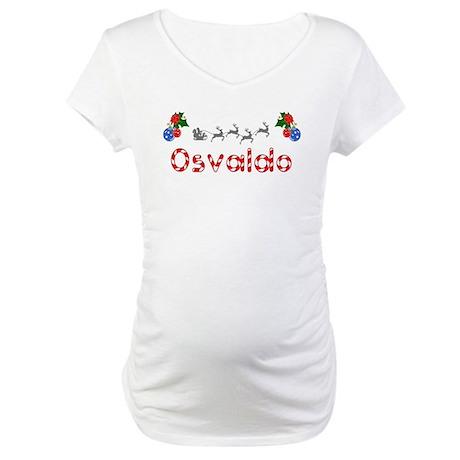 Osvaldo, Christmas Maternity T-Shirt