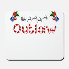Outlaw, Christmas Mousepad