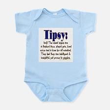 Tipsy Infant Bodysuit