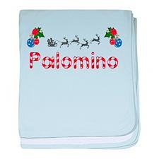 Palomino, Christmas baby blanket
