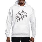 Spooky Ghosts Hooded Sweatshirt