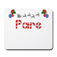 Pare, Christmas Mousepad