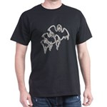 Spooky Ghosts Dark T-Shirt