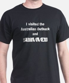 Outback Survivor Black T-Shirt