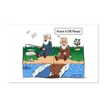 Fishing With Moses Mini Poster Print