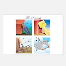 Seasons Postcards (Package of 8)