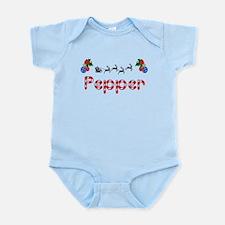 Pepper, Christmas Infant Bodysuit