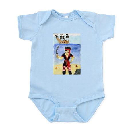 Li'l Pirate Infant Bodysuit