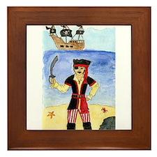 Li'l Pirate Framed Tile