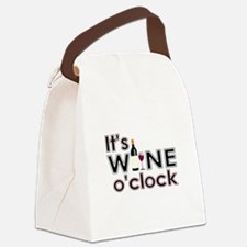 It's Wine O'Clock Canvas Lunch Bag