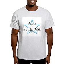FREYA IS MY IDOL Ash Grey T-Shirt