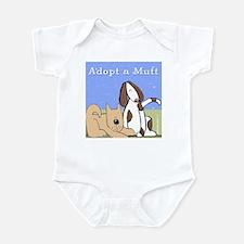 Adopt a Mutt! Infant Bodysuit