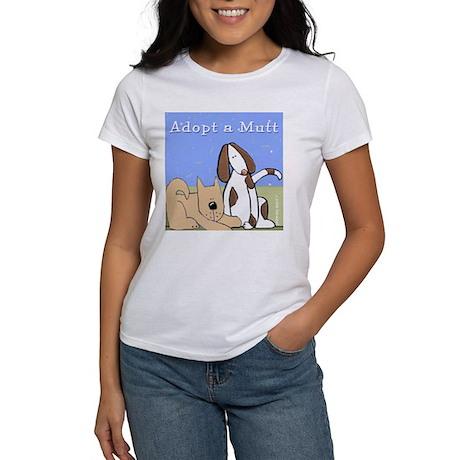 Adopt a Mutt! Women's T-Shirt