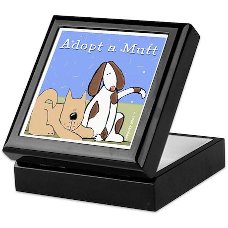 Adopt a Mutt! Keepsake Box