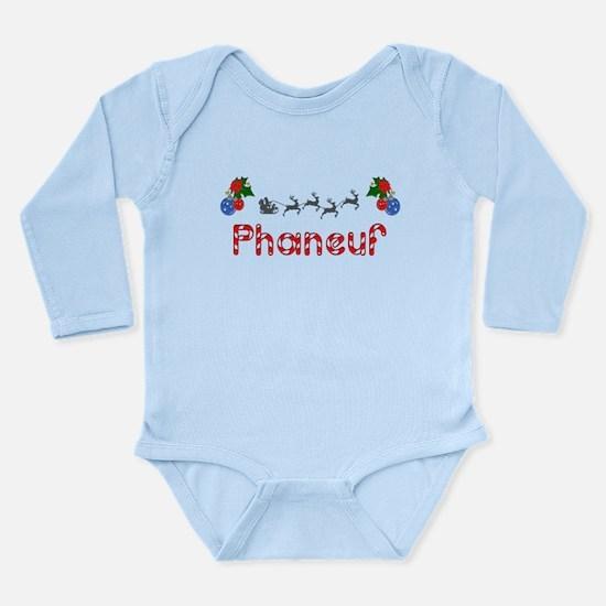Phaneuf, Christmas Long Sleeve Infant Bodysuit