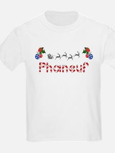 Phaneuf, Christmas T-Shirt