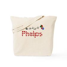 Phelps, Christmas Tote Bag