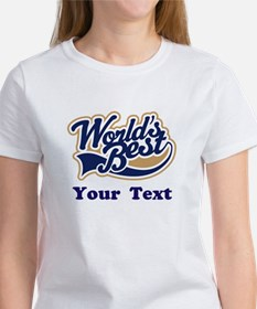 Personalized Worlds Best Tee