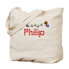 Philip, Christmas Tote Bag