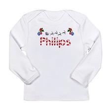 Philips, Christmas Long Sleeve Infant T-Shirt